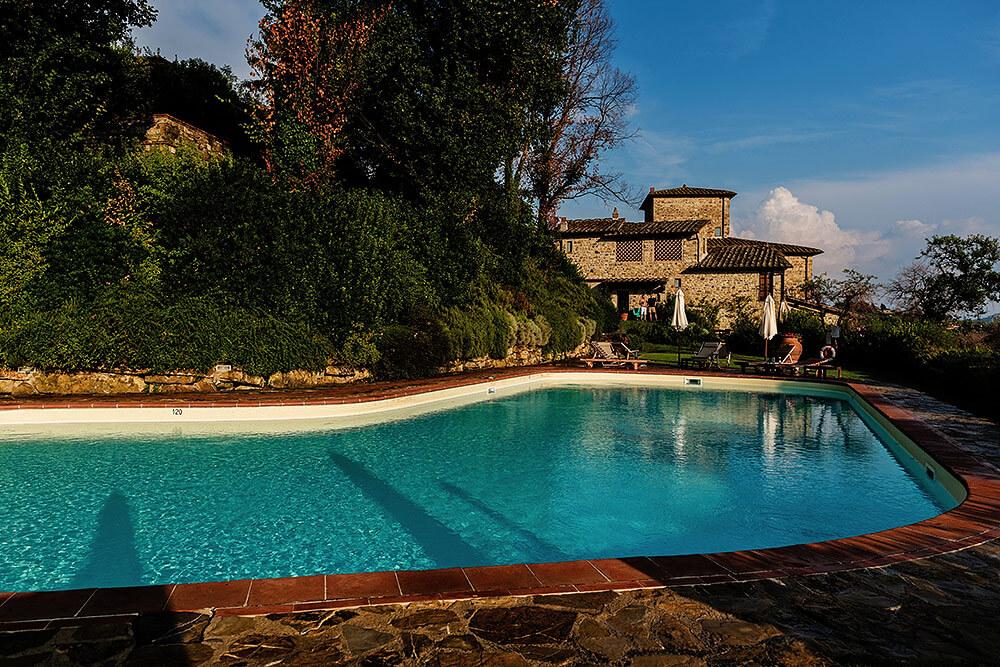 Wedding anniversary venue in Panzano in Chianti