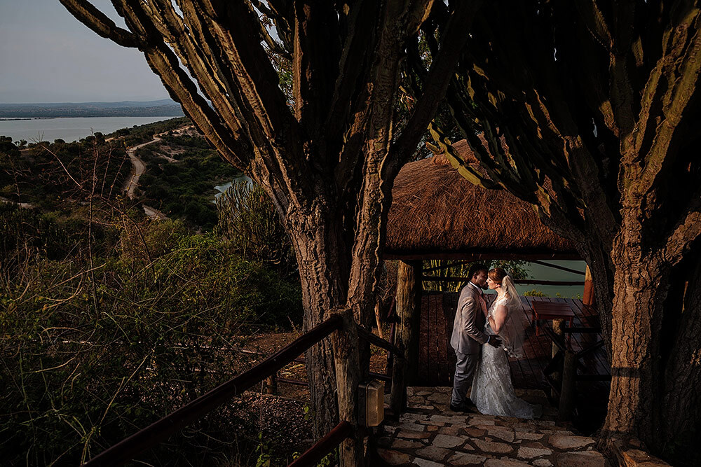 african destination safari wedding