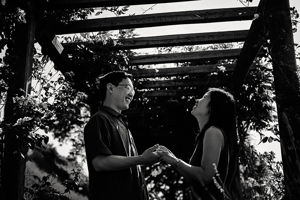 engagement session in chianti