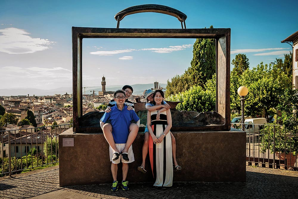 family session in florence