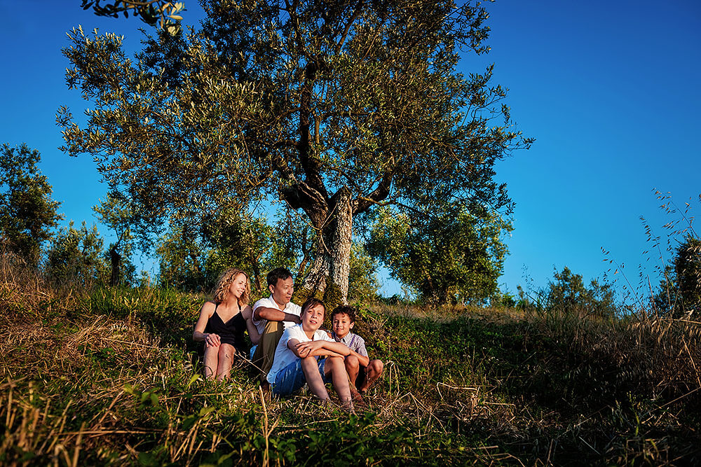 family session in lucca
