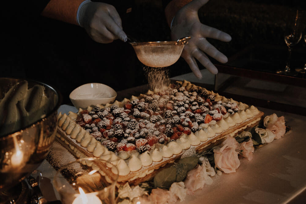 wedding cake millefoglie, villa le piazzole florence