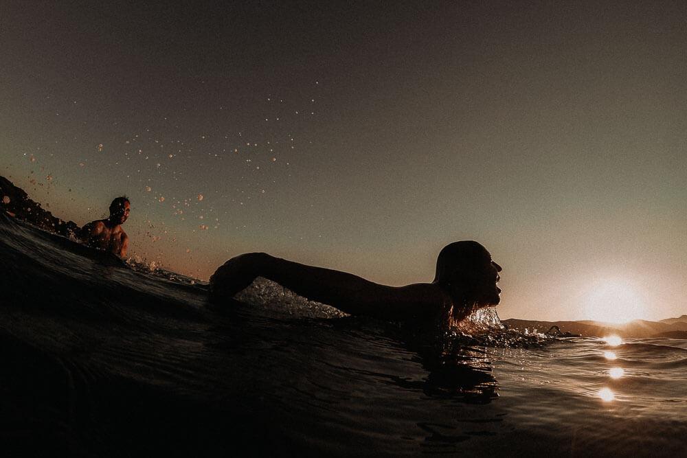 beach adventure photo shoot in italy