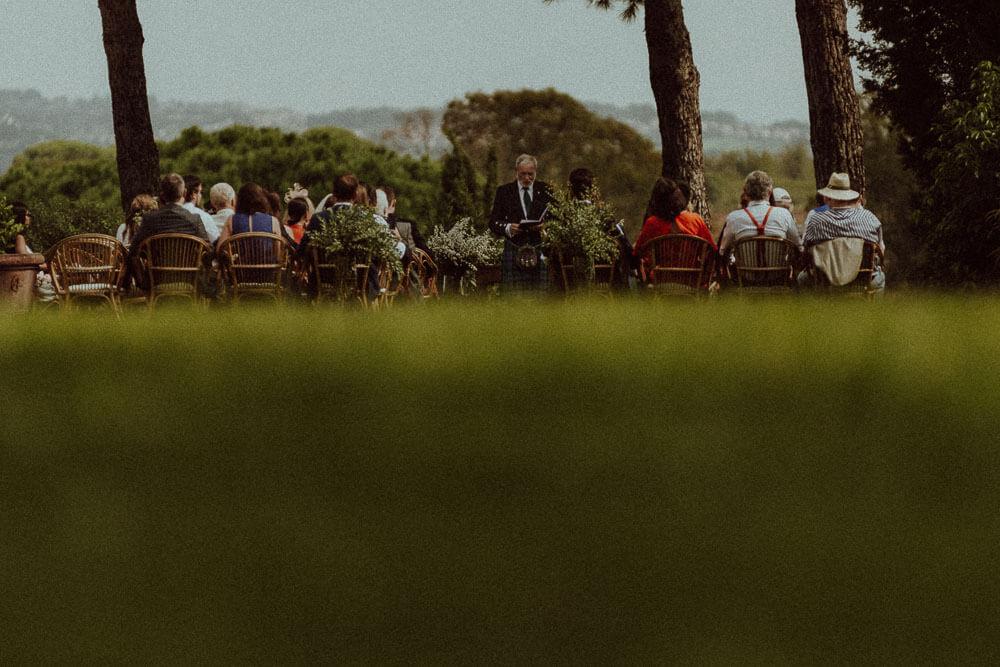scottish wedding ceremony with kilt