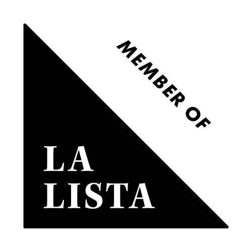 Lalista Badge Black Transparent Member