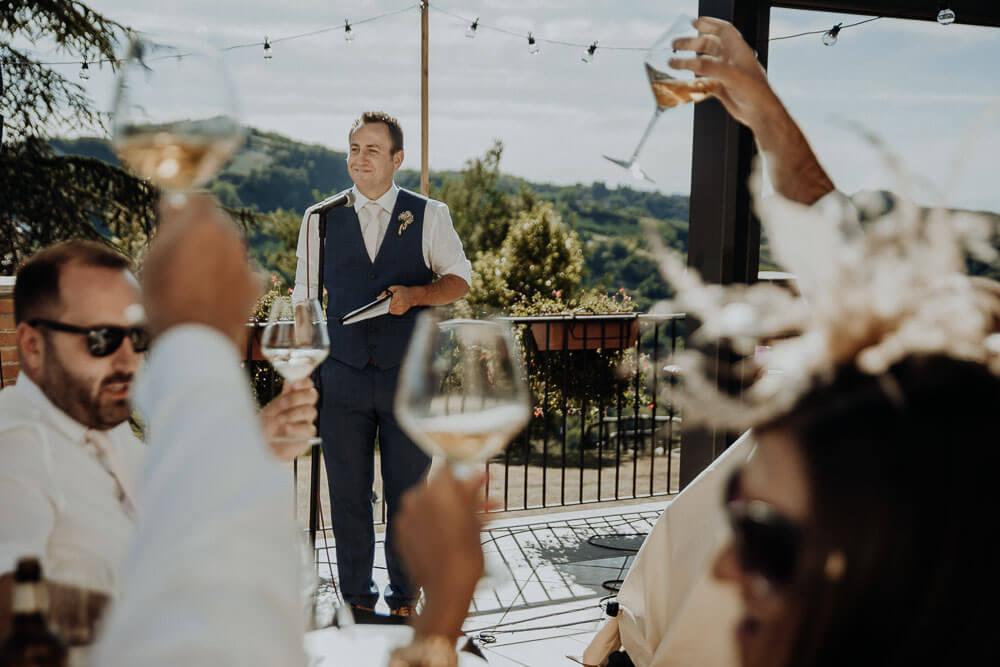 wedding speeches, langhe piedmont wedding photographer