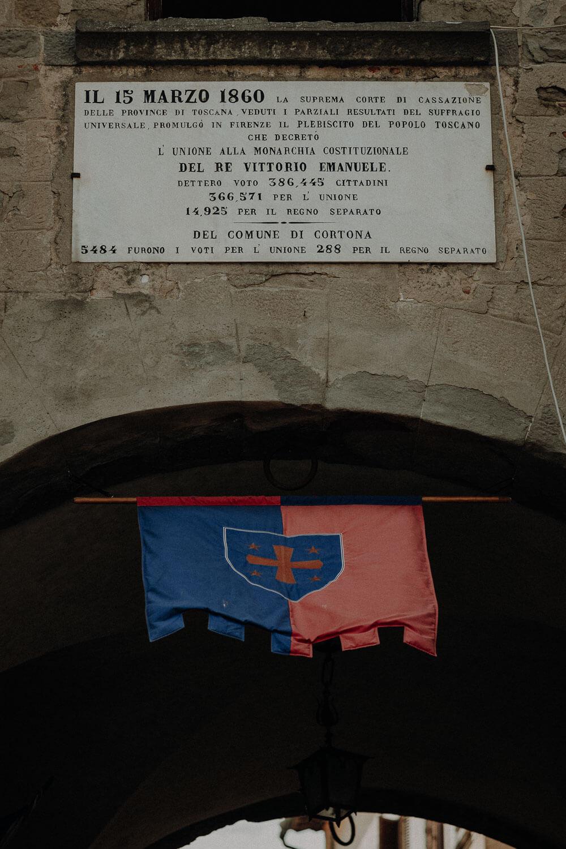 city of cortona in tuscany