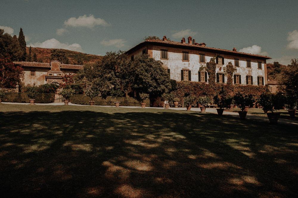 villa passerini in cortona