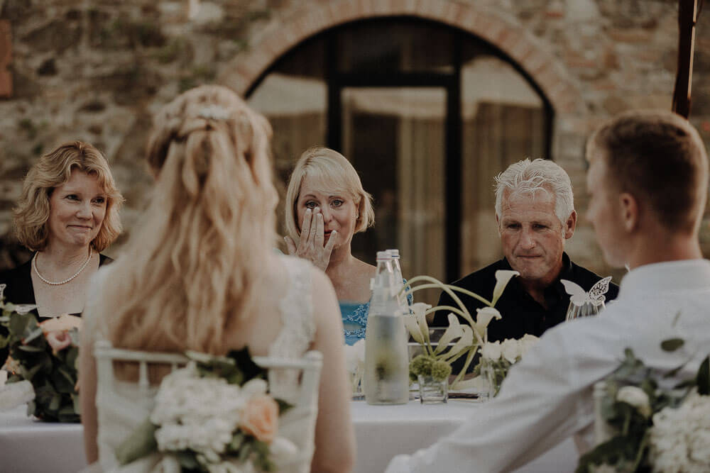 tuscany wedding speeches