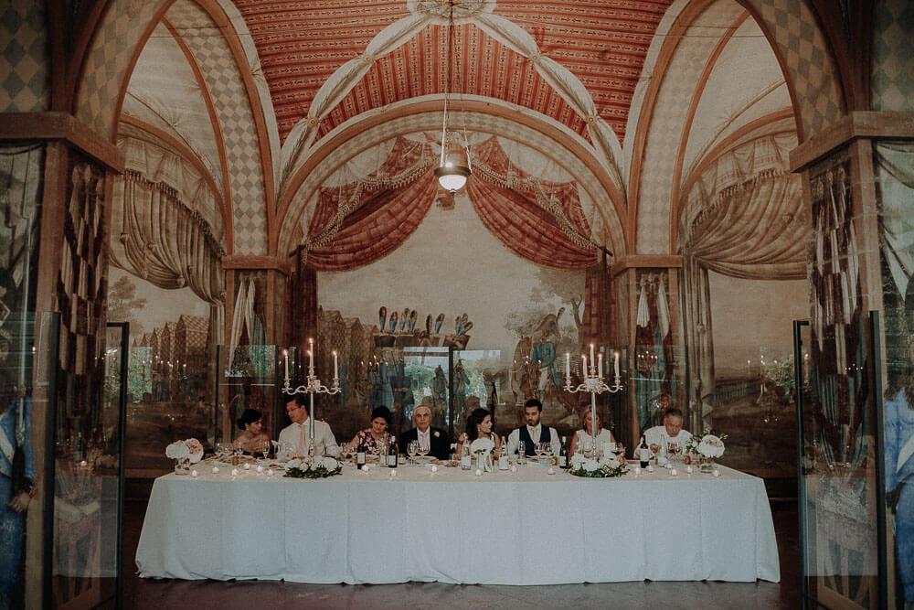 wedding dinner at villa passerini , cortona, tuscany
